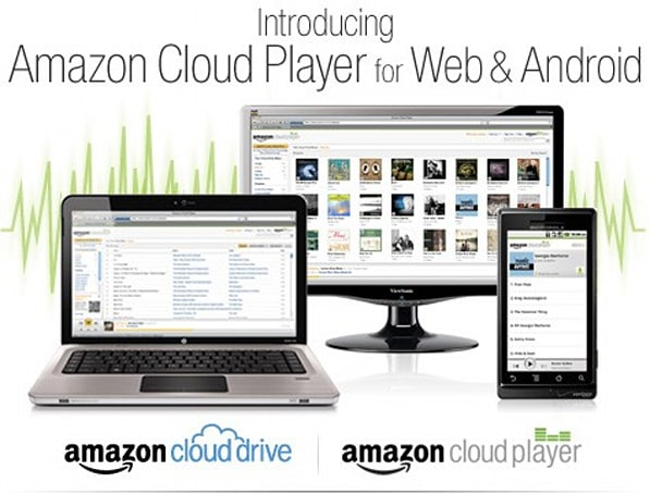 Amazon Cloud Player goes live, streams music on your computer and Android