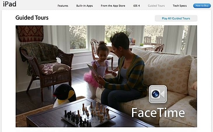 Apple posts iPad 2 guided tour videos