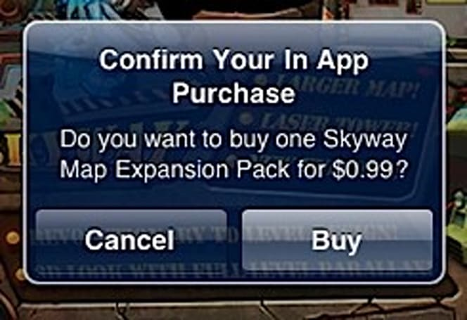Apple doubles down on in-app purchasing security in iOS 4.3, password now required