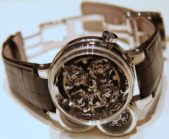 Harry Winston's Opus Eleven watch: mechanical masterpiece / bank breaker (video)