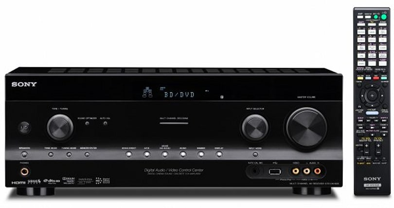 Sony rolls out four more 3D-ready receivers