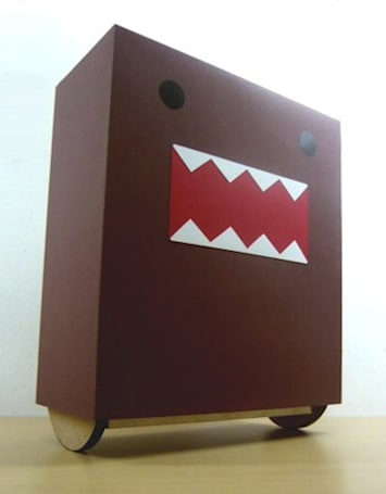 Self-balancing Domo-kun WobblyBot looks drunk, won't tip over (video)