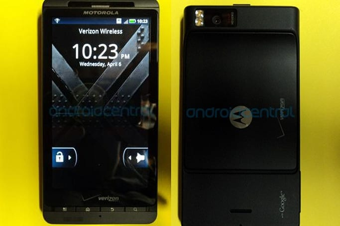 Droid X2 reappears in the wild, still indistinguishable from Droid X