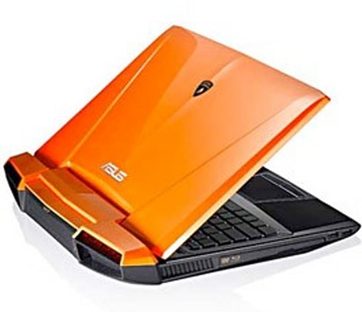 ASUS refreshes Lamborghini VX7 with Sandy Bridge, mercifully offers a black option
