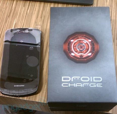 Droid Charge gets semi-unboxed behind the scenes at Best Buy