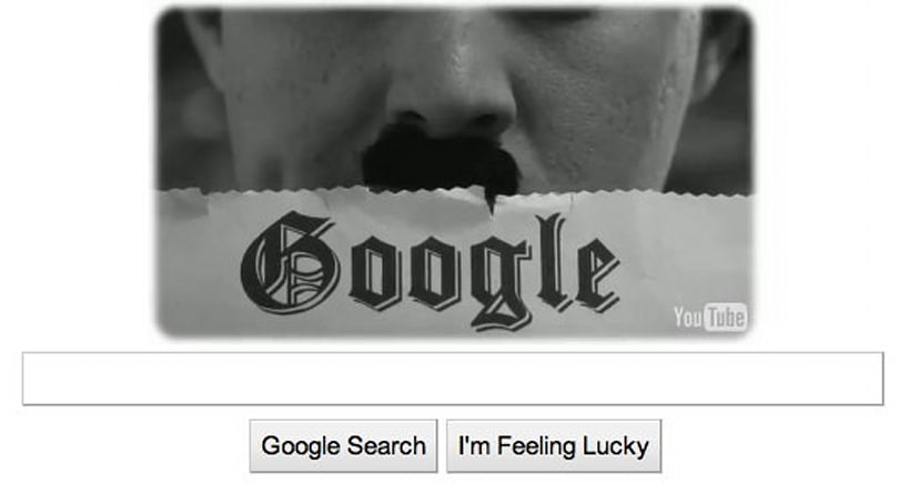 Google video doodle celebrates Charlie Chaplin's 122nd birthday