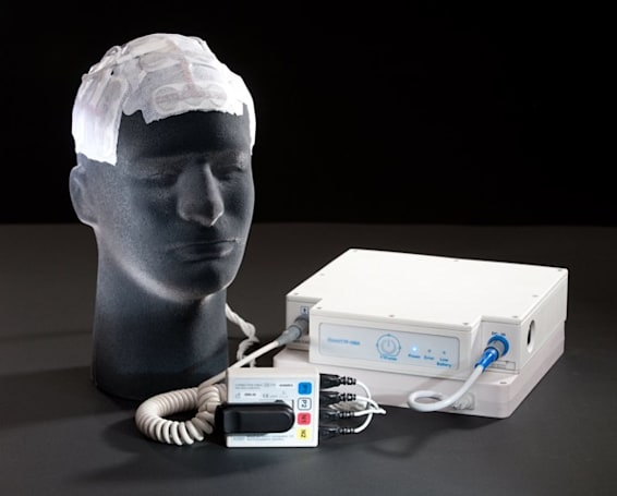 Portable brain tumor treatment system kills cancer while you take out the trash