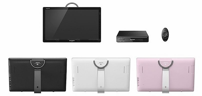 Sharp announces WiFi-enabled Freestyle Aquos portable TV for Japan