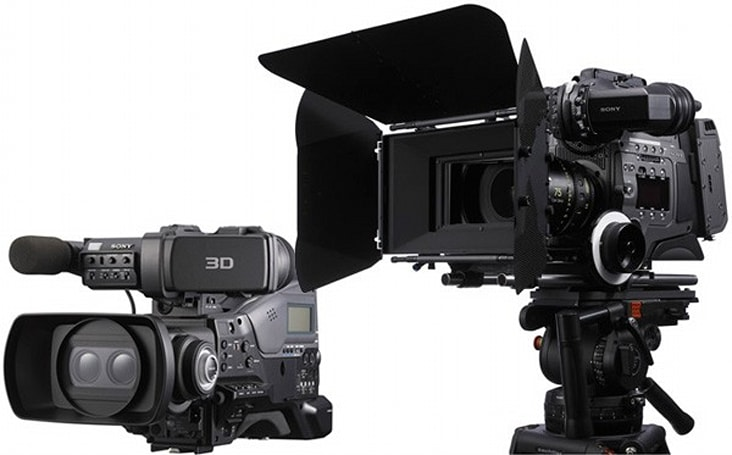 Sony shoots out CineAlta F65 4K camera and PMW-TD300 3D camcorder at NAB
