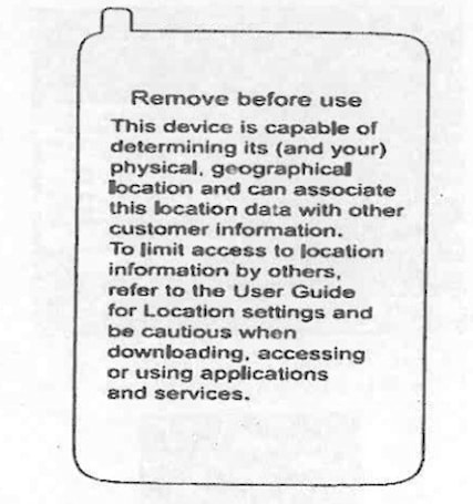 Verizon says it will put location warning labels on all phones sold