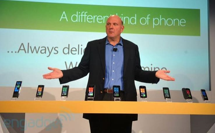 Steve Ballmer promises 'over 500' new features in Mango, teases new WP handsets (updated)