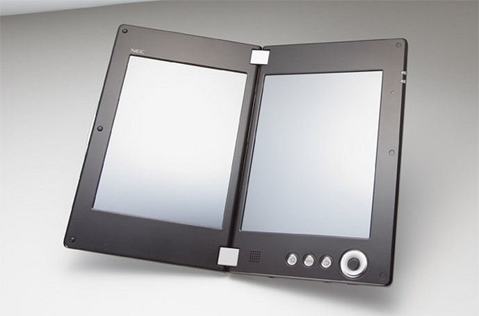 NEC's dual-screen LifeTouch W tablet shipping in Japan this June