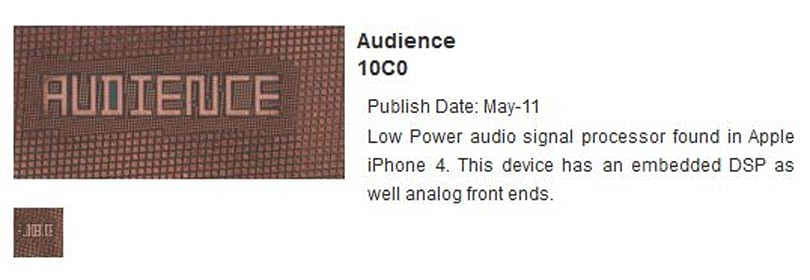 Audience noise-cancelling said not to feature in next iPhone