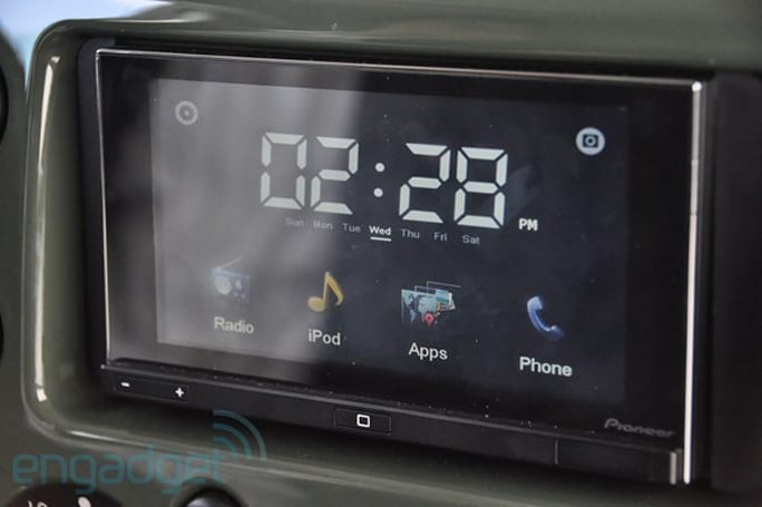 Pioneer unveils its AppRadio, integrates iOS into your automobile