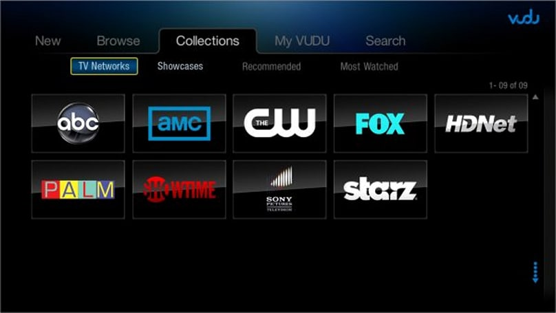 Vudu adds TV shows to its rental catalog, but only some are in HD