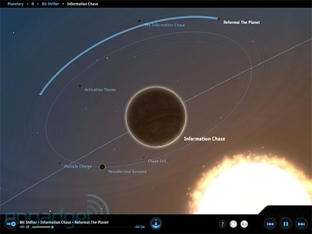 App review: Planetary for iPad