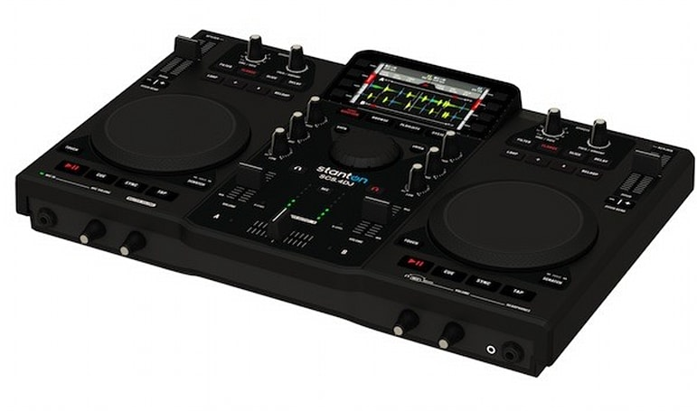 Stanton's SCS.4DJ Digital DJ Mix Station up for Best Buy pre-order this month, in stores by July
