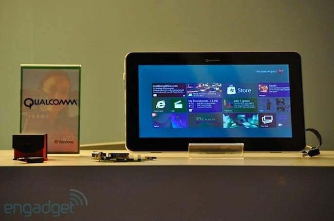 Qualcomm announces dual- and quad-core Snapdragon processor support for Windows 8