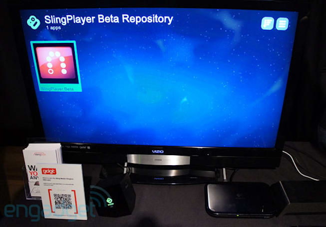 SlingPlayer for Boxee Box hands-on (video)