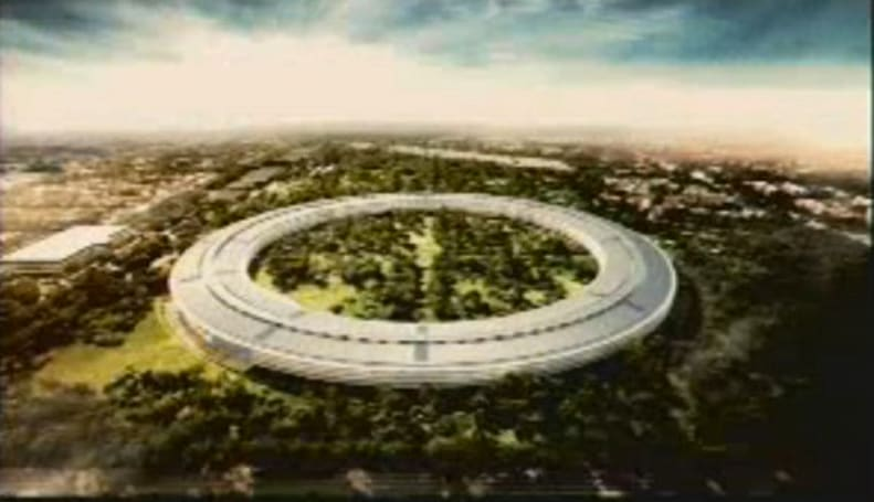 Steve Jobs reveals Apple's new spaceship campus, calls it the 'best office building in the world' (video)