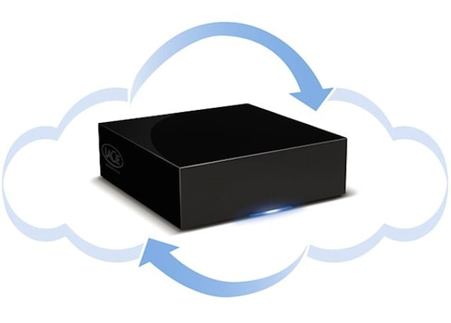 LaCie's CloudBox 'hybrid HDD' doubles your backups in the cloud (video)