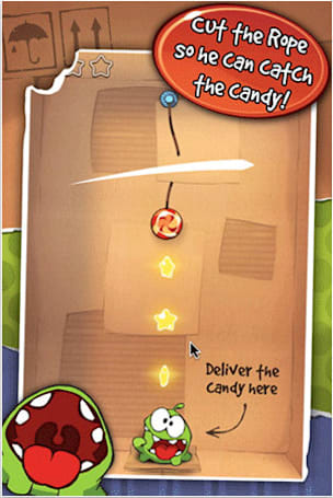 GetJar gets Cut the Rope exclusive, candy-craving monster makes Android debut