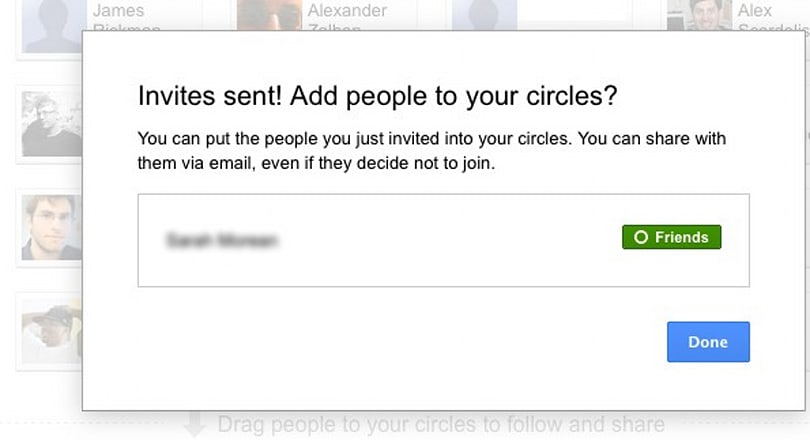 Google+ users can now send email invites, brag about being into the service before it was cool
