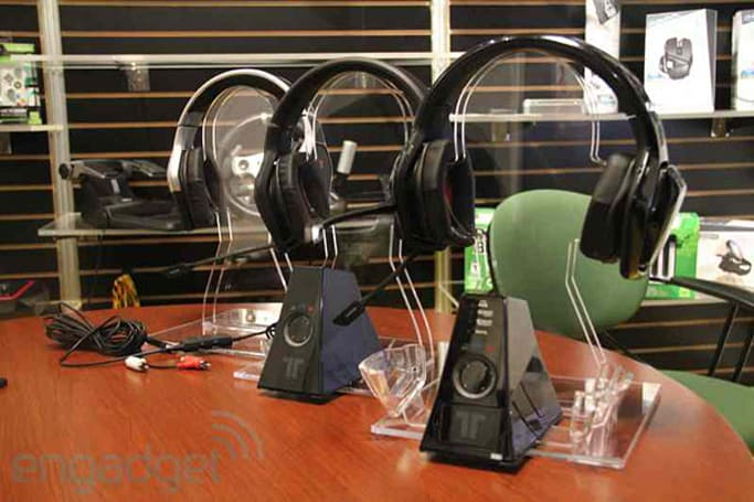 Mad Catz co-branded Xbox 360 / Tritton headsets: eyes-on, ears-off