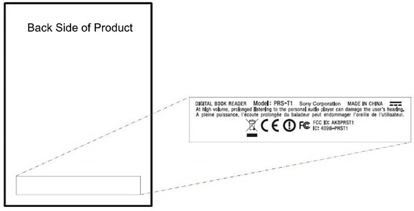 Sony PRS-T1 Reader wanders into the FCC with WiFi on board
