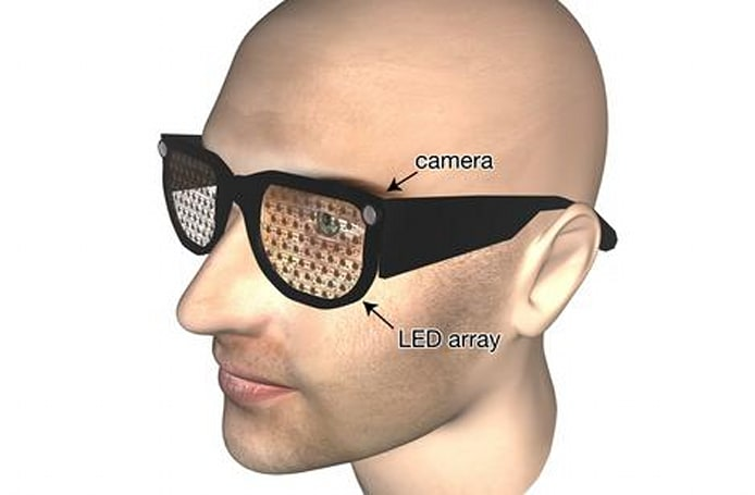 Prototype glasses use video cameras, face recognition to help people with limited vision