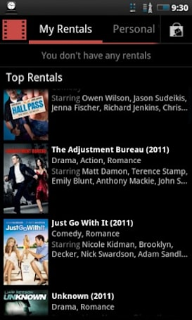 Google Videos rental app makes fleeting cameo in Market, portends of an imminent release