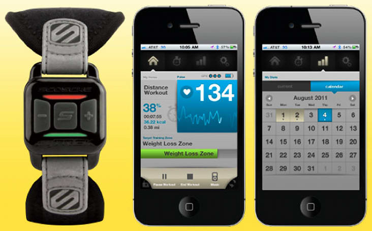 Scosche myTrek sends workout vitals to your iPhone, starts shipping now for $130 (video)
