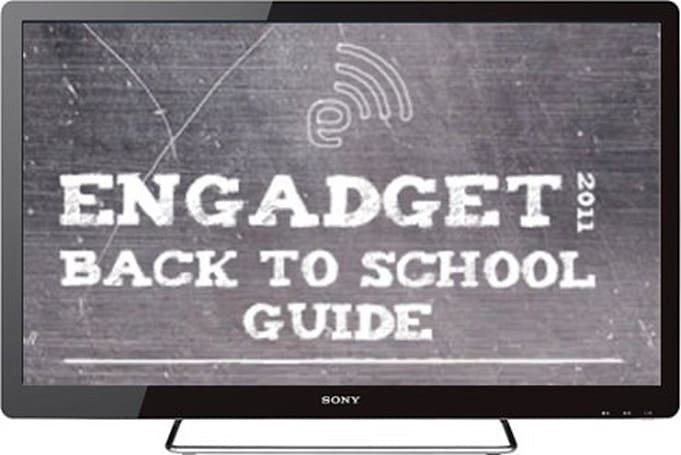 Engadget's back to school guide 2011: televisions