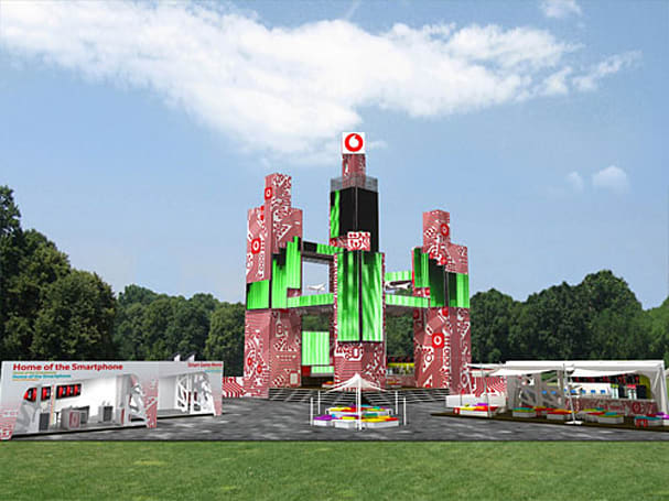 Gigantic LED wall provides gaming at Sziget Fest, destroys your cred from miles away