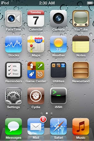 iOS 5 beta 5 finally gets its jailbreak, rides home in a gangster limo