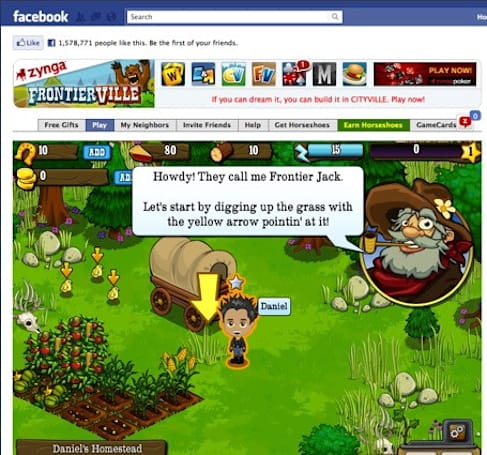 Zynga's Pioneer Trail is like The Oregon Trail without the typhoid