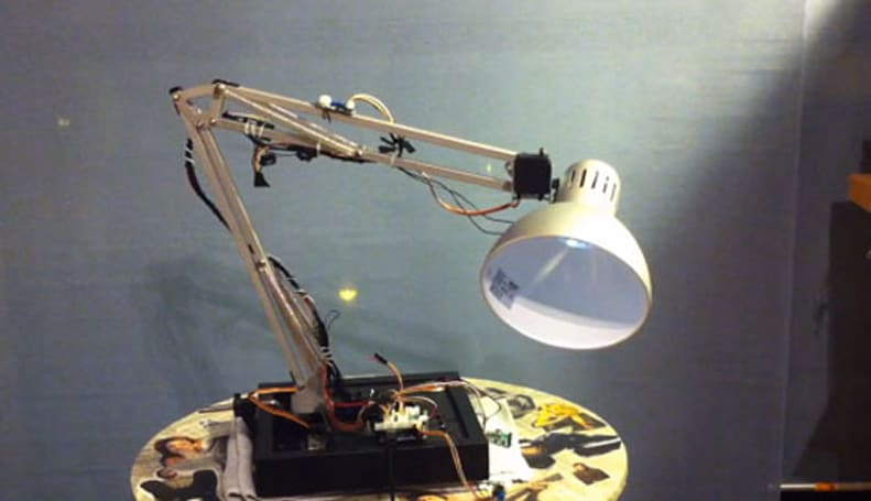 Arduino hack imitates Pixar's living lamp, disses IKEA in the process (video)