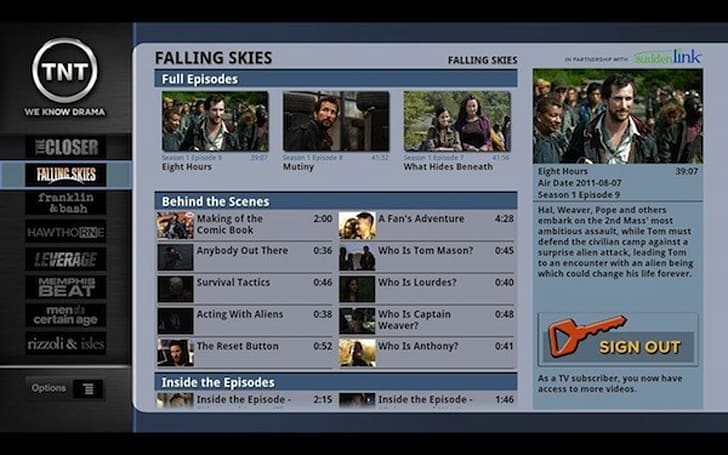 Google TV apps for TNT, TBS leak out briefly, reveal authenticated streaming on the way