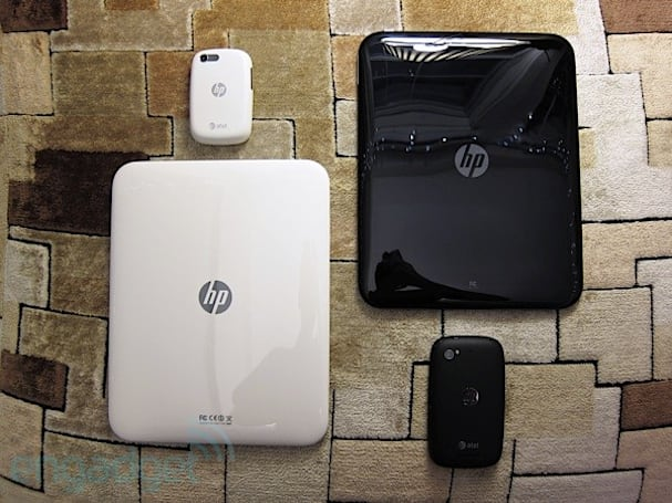 HP's unreleased white TouchPad and Pre 3 for AT&T (hands-on video)