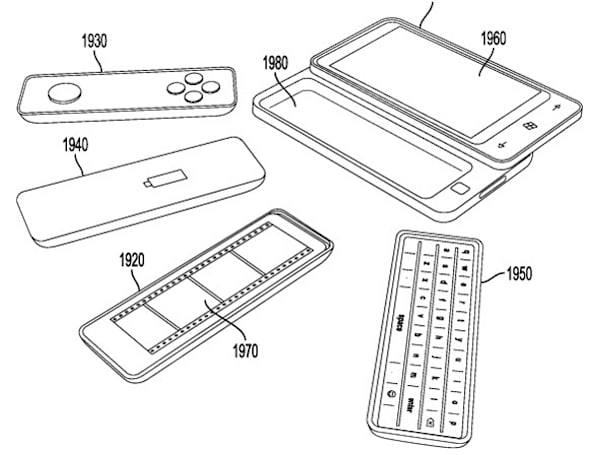 Microsoft patents modular Windows Phone with swappable batteries, keyboard, and gamepad