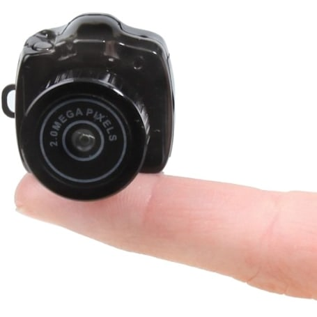 Two megapixel mini-camera measures in at under a cubic inch, weighs under an ounce