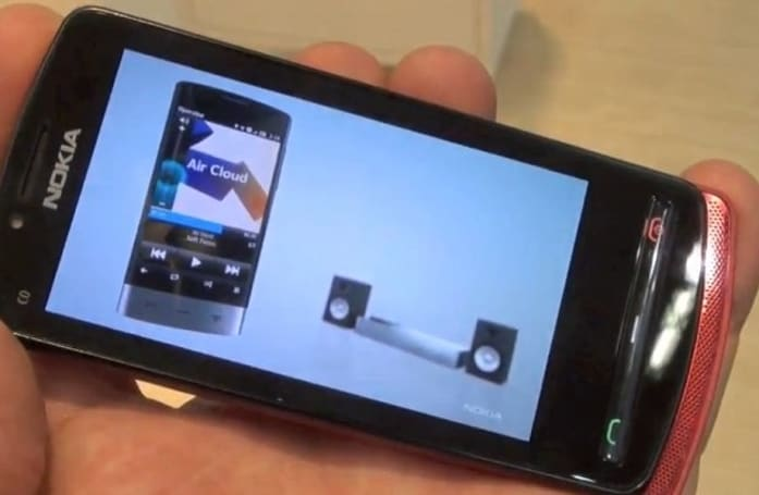 Unannounced Nokia Symbian Belle handset is a mysterious phone within a phone (video)