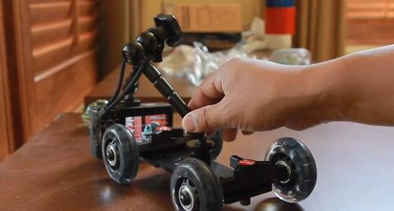 Pico Dolly replaces homemade roller skate tripods for smaller camera productions (video)