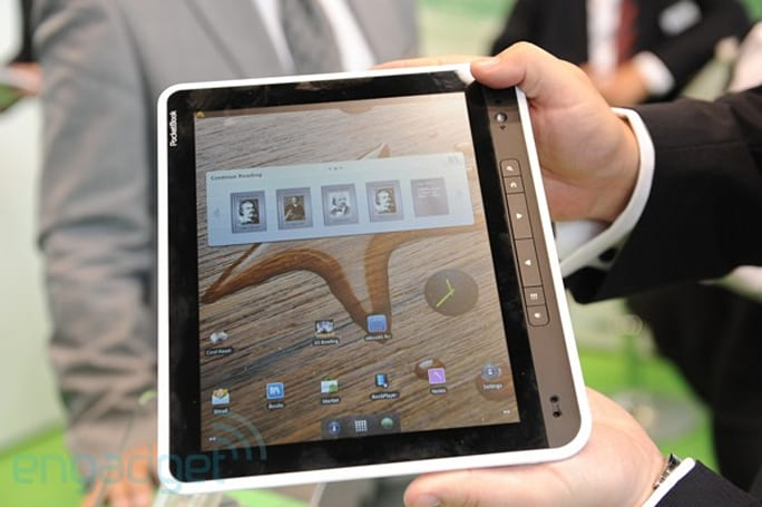 Pocketbook A10 hands-on (video)