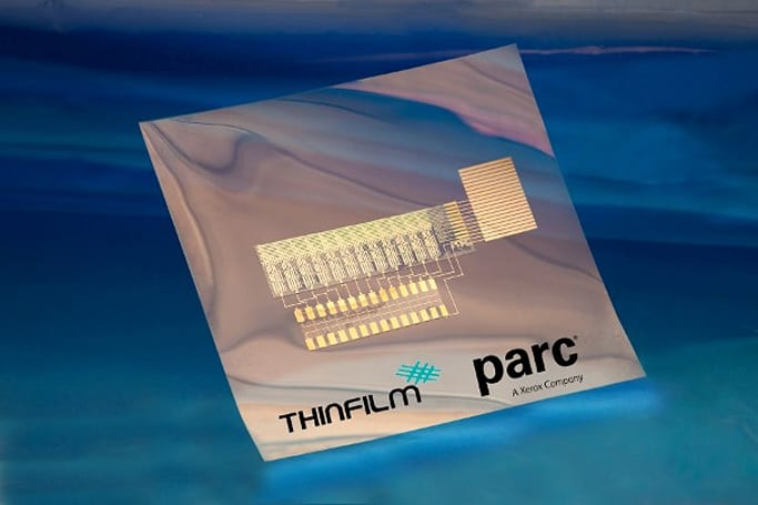 ThinFilm and PARC demo printable, organic CMOS circuit, inch us closer to an 'internet of things'