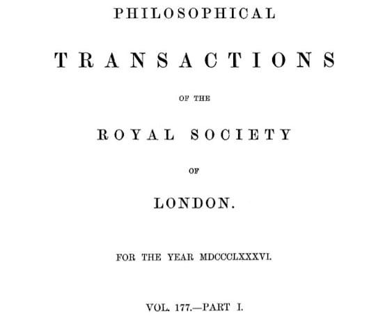 Royal Society opens its archives to the web, is less elitist than the name suggests
