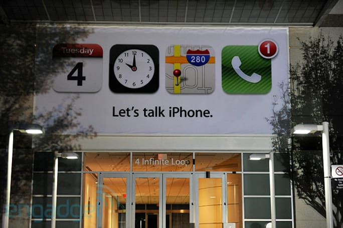 Apple's 'Let's Talk iPhone' keynote liveblog!