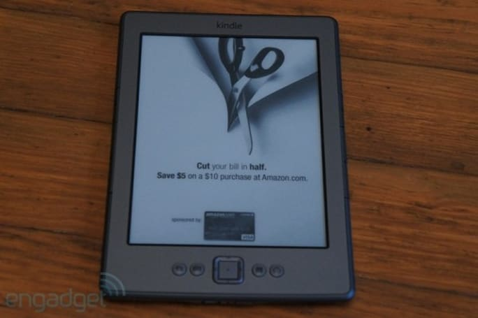 "Ad-supported Kindle 4 has built-in $30 ""upgrade"", gets rid of embedded special offers"
