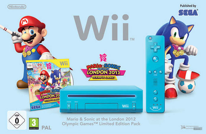 European blue Wii bundle takes Mario & Sonic to the Olympics, sends US gamers home without a medal