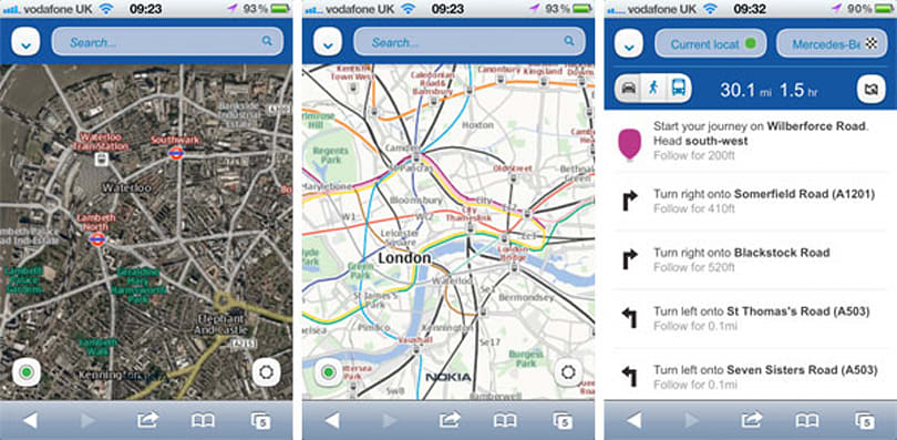 Nokia Maps officially arrives on iOS and Android, touts offline storage